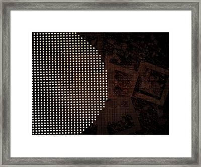 Dot's It Framed Print by Blue Doves