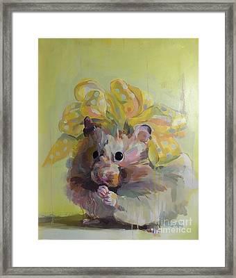 Dottie Framed Print by Kimberly Santini