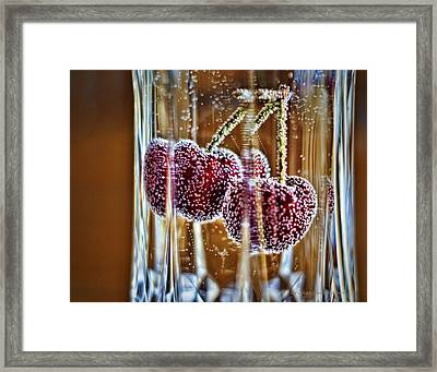 Double Bubble Framed Print by Cricket Hackmann