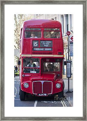 Double Decker  Framed Print by Andrew  Michael