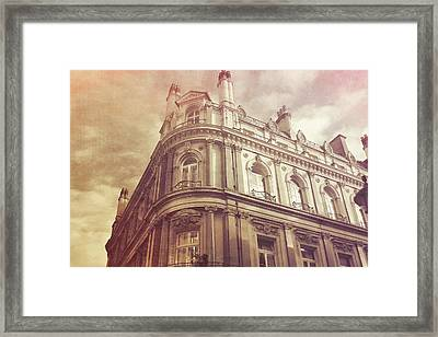 Double Decker View Framed Print by JAMART Photography