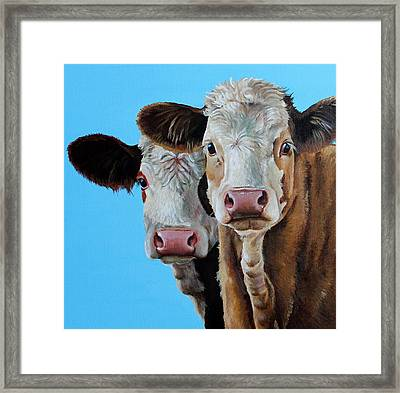 Double Dutch Framed Print