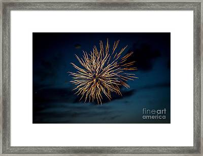 Double Explosion Framed Print by Robert Bales