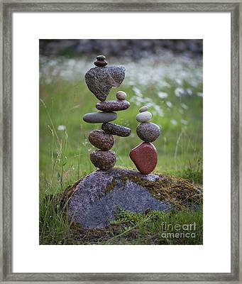 Double Fun Framed Print
