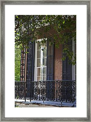 Double Glass Framed Print