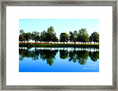 Double Horizon Framed Print by Jessica Smith