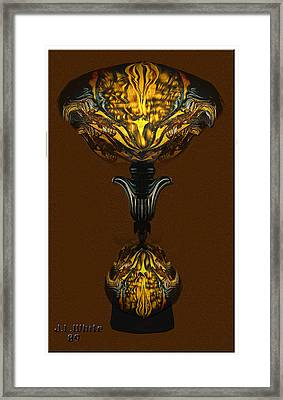 Double Lamp Framed Print by Jerry White