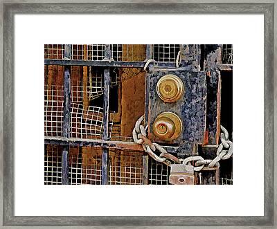 Double Locked Framed Print