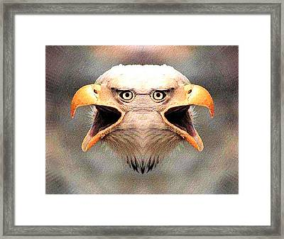 Double Minded Framed Print