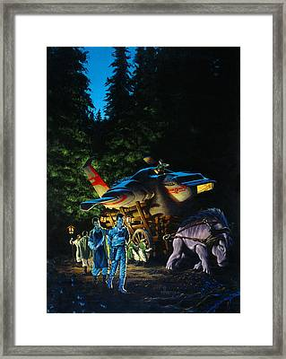 Double Nocturne Framed Print