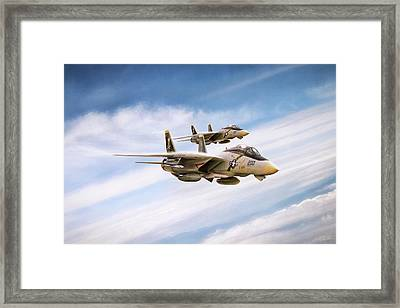 Double Nuts Framed Print by Peter Chilelli