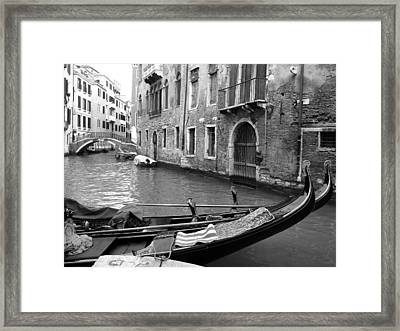 Framed Print featuring the photograph Double Parked by Donna Corless