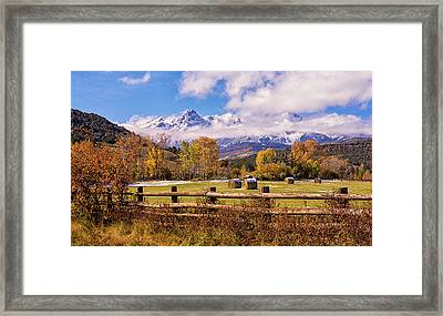 Double Rl Ranch Framed Print