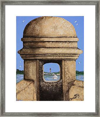 Double Sentry Framed Print by Darlene Green