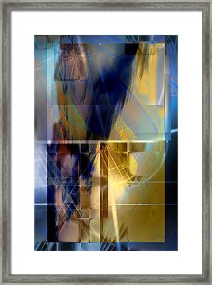 Double Structure Framed Print