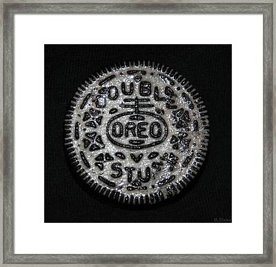 Double Stuff Oreo Framed Print by Rob Hans
