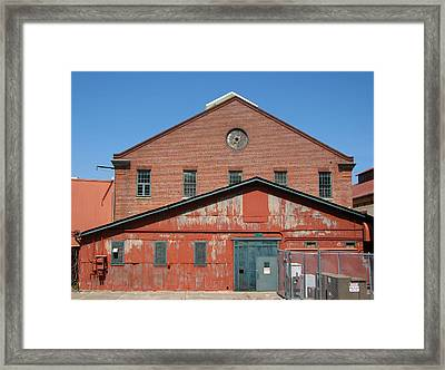 Double The Textures Framed Print