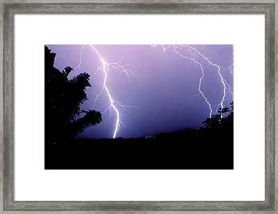 Framed Print featuring the photograph Double Trouble by Odille Esmonde-Morgan