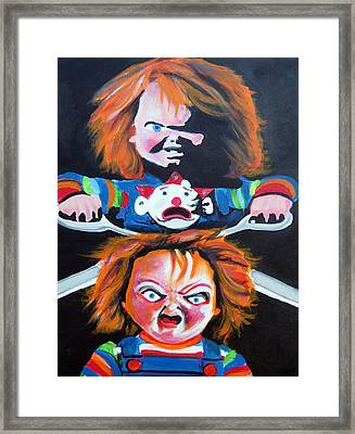 Double Trouble  Framed Print by Ottoniel Lima