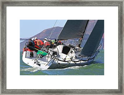 Double Trouble Rolex Cup Framed Print