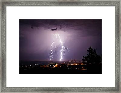 Framed Print featuring the photograph Double Trouble by Ron Chilston