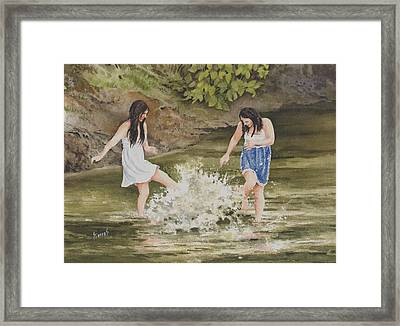 Double Trouble Framed Print by Sam Sidders