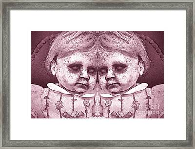 Double Trouble Two Framed Print