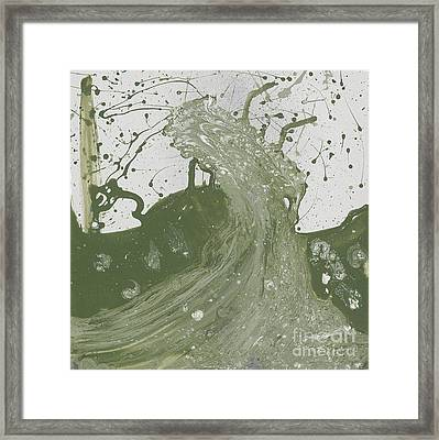 Double Up Wave Framed Print