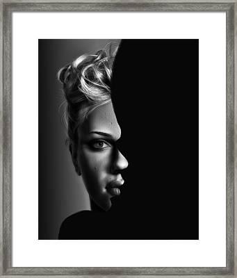 Double Vision Framed Print by Digital Art Cafe