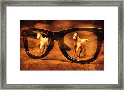 Double Vision Framed Print by Jeff  Gettis