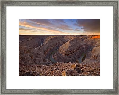 Doubleback Framed Print by Mike  Dawson