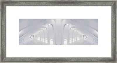 Doubled Arches Framed Print by Scott Norris