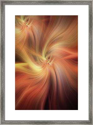 Doubled Vibrations Of Light Framed Print