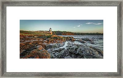 Doubling At Dusk Framed Print