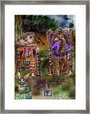 Doubt Framed Print by Cynthia Richards