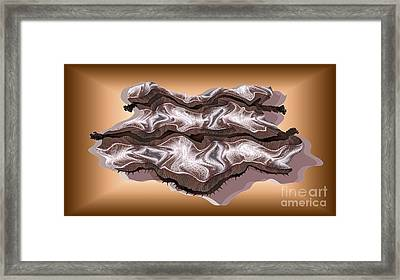 Doubt Its Redoubt Framed Print by Ron Bissett