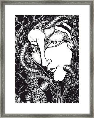 Doubt Framed Print by Rae Chichilnitsky