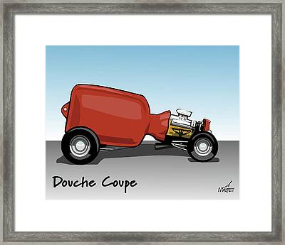 Douche Coupe Framed Print