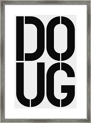 Doug Framed Print