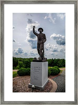 Doughboy Remembered Framed Print by Michael Horst