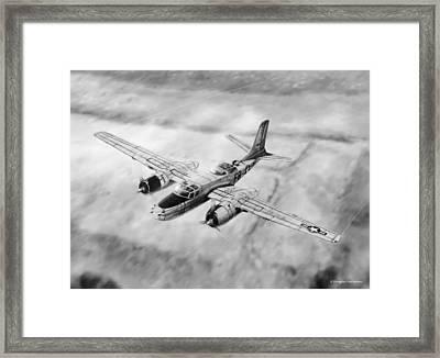 Douglas A-26 Invader Framed Print