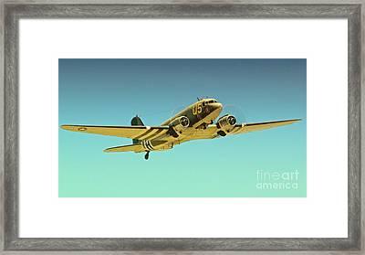Douglas C-47 2011 Chino Air Show Framed Print