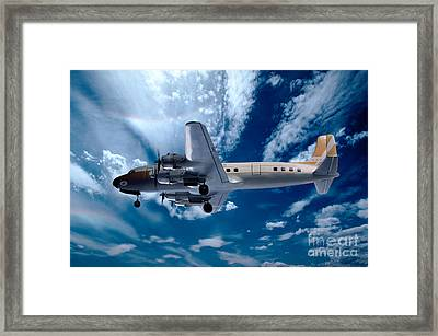 Douglas C-54e - Dc-4, Hk-171 Framed Print by Wernher Krutein