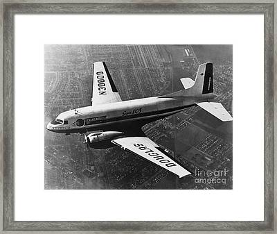 Douglas Dc-3 Framed Print by Photo Researchers