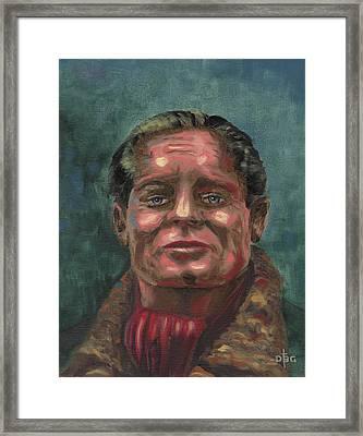Douglass Bader Framed Print
