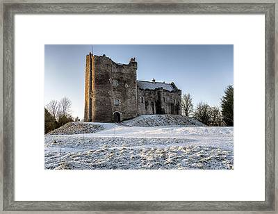 Doune Castle In Central Scotland Framed Print