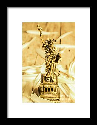 Statue Of Liberty National Monument Framed Prints