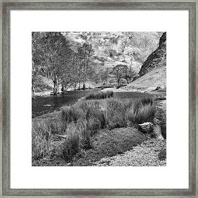 Dovedale, Peak District Uk Framed Print