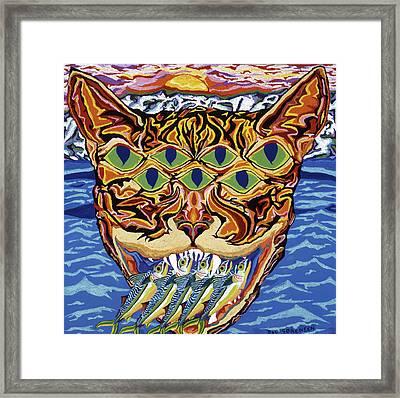 Dover Cat Framed Print by Robert SORENSEN