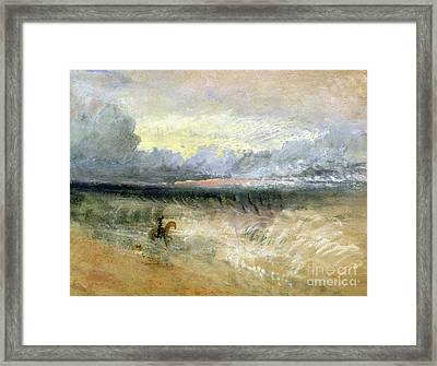 Dover  Framed Print by Joseph Mallord William Turner